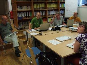 Projektsitzung in den Räumlichkeiten von Bio Austria