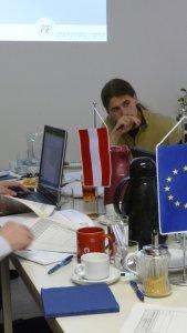 Für die tschechischen Partner ist es nicht immer einfach, den auf Deutsch geführten Diskussionen zu folgen.