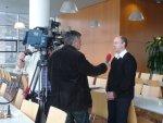 Dreharbeiten Klimaschutzpreis in der Küche in St.Pölten