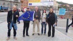 Gruppenfoto der österreichischen Projektpartner