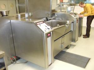 Aufnahme der Küchengeräte