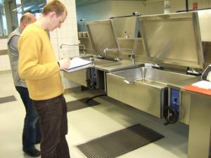 Sämtliche Energieverbraucher in der Großküche werden erfasst