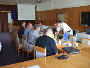 Angeregte Diskussionen zum Thema Energiemessungen