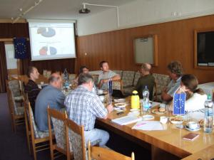 Präsentation der Zwischenergebnisse bei den Energiemessungen in Tschechien