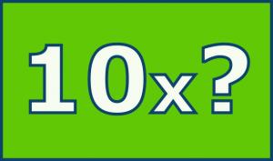 Symbolgrafik 10x?